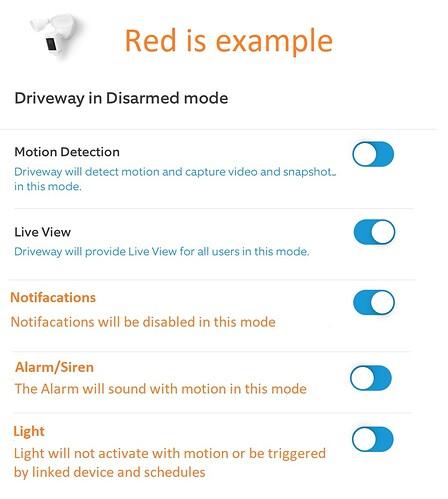 Ring App Mode
